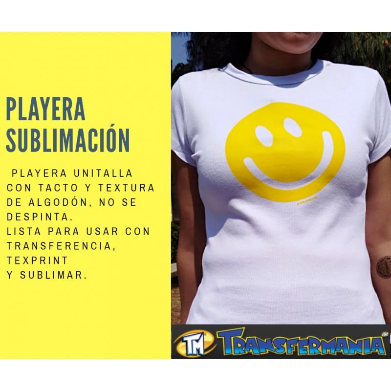 201A Playera SubliDama Rib
