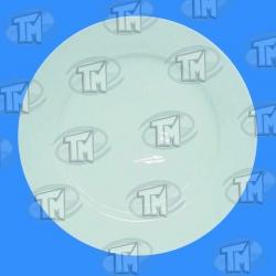216 Plato blanco liso 20 cm. diametro