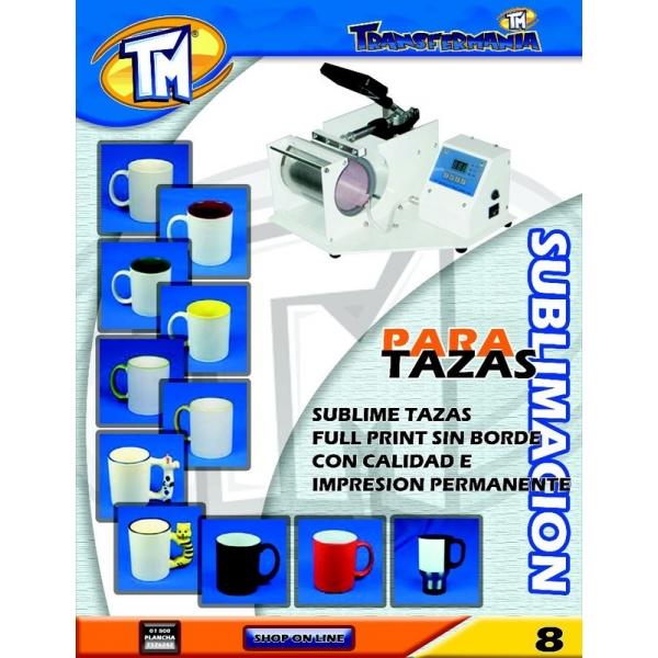 609 Plancha Tazas Eco digital