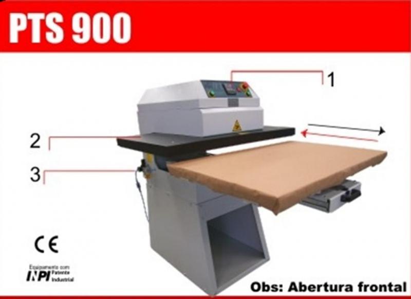343 PTS 900 Plancha Neumatica  Metalnox® semiautomatica 65x102