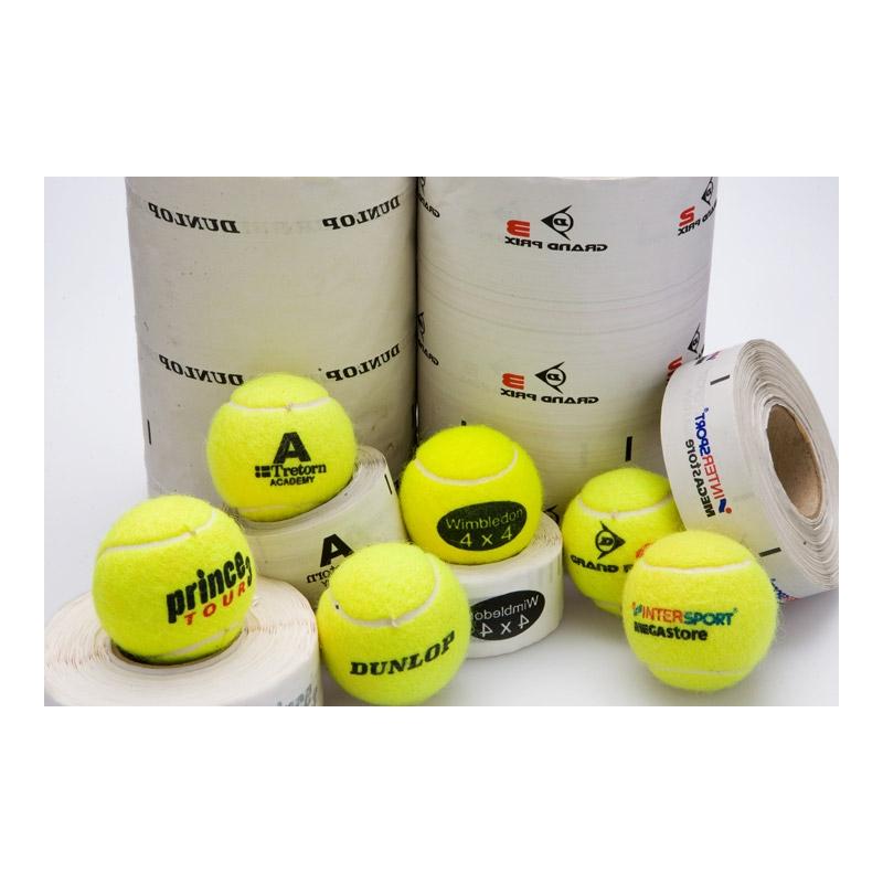 Etiquetas para pelotas