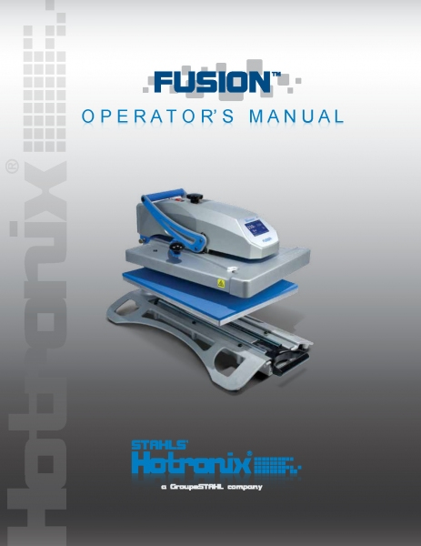 403 Fusion iQ Hotronix® 40X50CM.