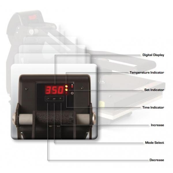 414 MAXX™ Hotronix Plancha  Gorra 8.5X17CM.