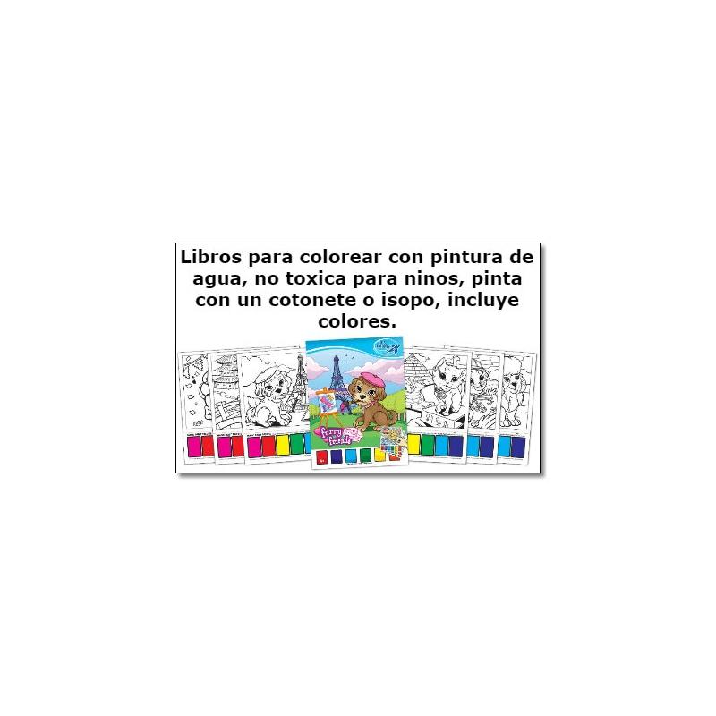 6001Manteletas y cuadernos para colorear