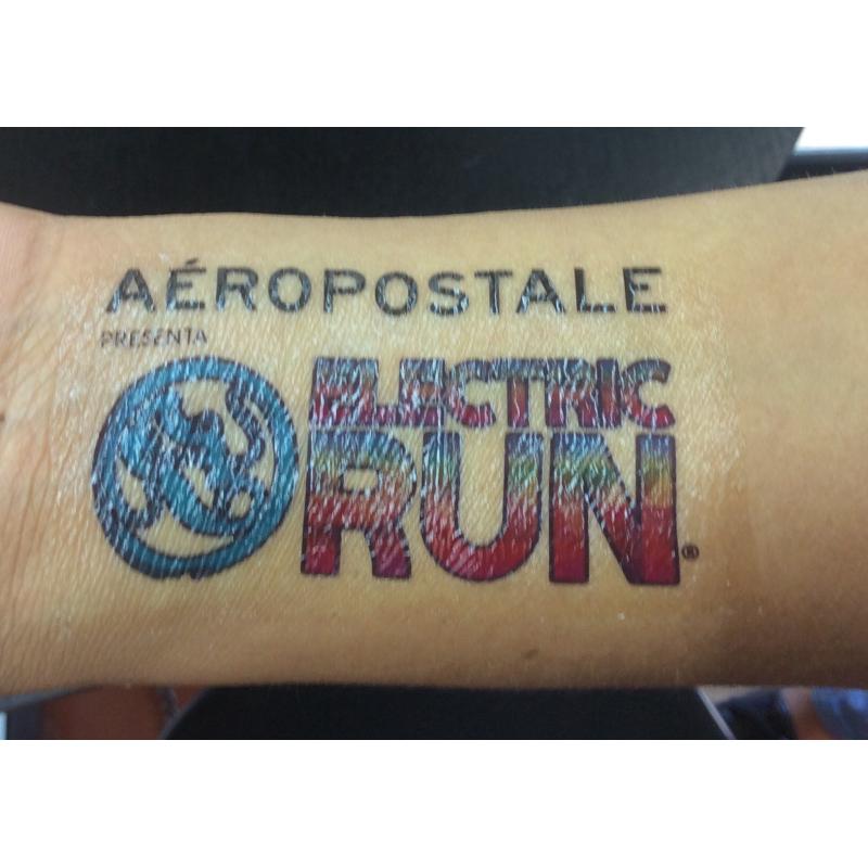 Tatuajes promocionales, en 24 hs.